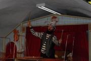 Hmyzí cirkus v muzeu loutek