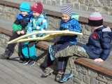 Děti z Paraplíčka uvítaly jaro.