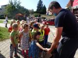 Ukázka práce záchranářů,policie a hasičů